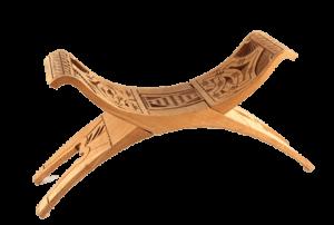 Surinaams houtsnijwerk bankje
